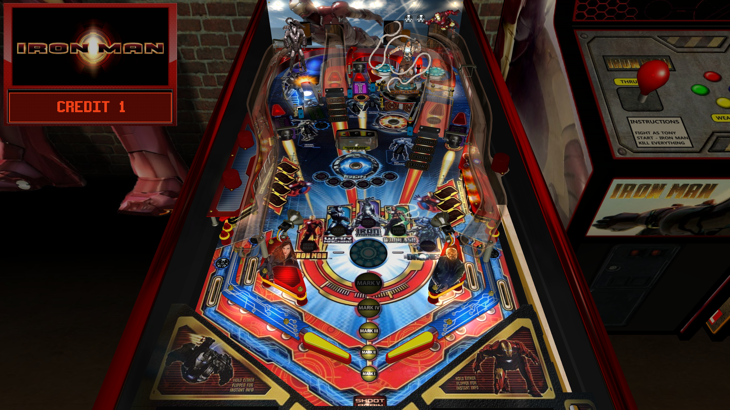Playfield, Day Version