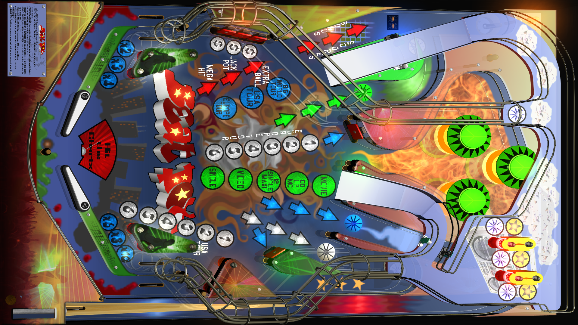 Hyperpin: Playfield